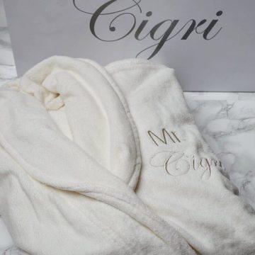 badjas trouwen